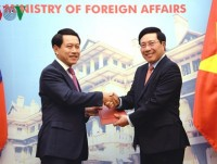 vietnam laos exchange two import legal documents on border issues