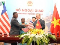 vietnam liberia sign visa exemption agreement