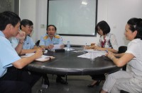 customs department of ho chi minh city acting for the business community