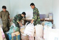 stop the flow of smuggled goods across dong thap border