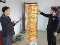 detecting smuggled led and firecrackers from china
