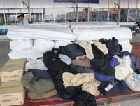 two shipments of smuggled fabric seized