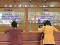 hanoi has exposed 144 units of tax debt in the beginning of 2018