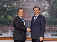 enhance cooperation with laos in finance