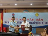 customs strengthen to cooperate with vietnam steel association
