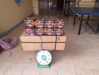 customs seize 2 hundred kilograms of fireworks at bo y border