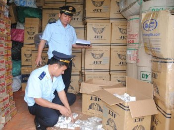 handling illegally imported cigarettes