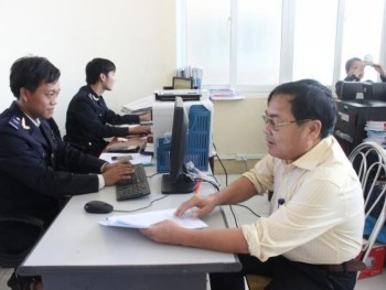 nghe an customs positive signs from budget collection