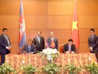signing agreement on double taxation avoidance between vietnam and cambodia