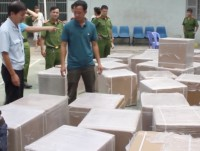 owner of smuggled new drugs shipment was detected to import illegal medical equipments before