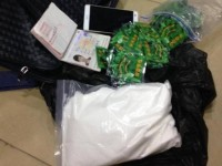mong cai customs seized more than 1 kg of synthetic narcotic