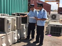 cai mep customs continues to seize hundreds of smuggled air conditioners