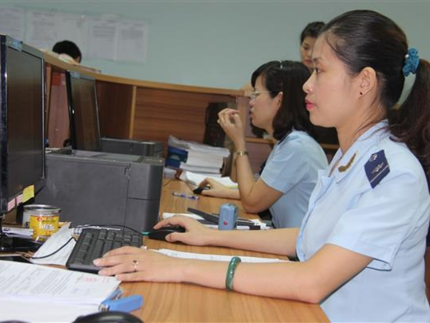 more than 97 of tax collection at hai phong customs is done by online