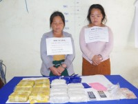 thanh hoa border defense force seized 34000 tablets of synthetic narcotics