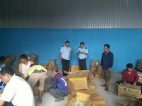 detect a suspected shipment of tax fraud at tinh bien border an giang
