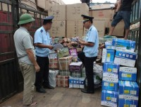 lang son stop clearance to do physical inspection 17 transit cargo containers