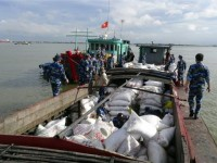 coast guard seized a ship transporting 50 tons of nitrogenous fertilizer