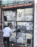 hai phong customs discovered two scrap containers