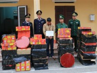 customs and border denfense collaborate to seize 68 cases of smuggling narcotics and arrest 72 people