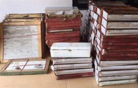 hire to transport smuggled chinese enamelled tile
