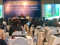 apec enhance the capacity for identifying illegal timber and wood products