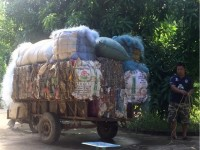 seizing more than 12 tons of smuggled wastage