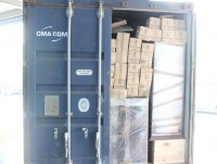 consignee refused to receive a shipment of 20 packs of used medical equipment
