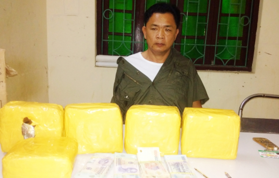 dien bien arrest an instigator of the line of transporting 5kg meth