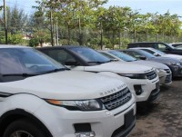tens of imported special purpose cars were left in port