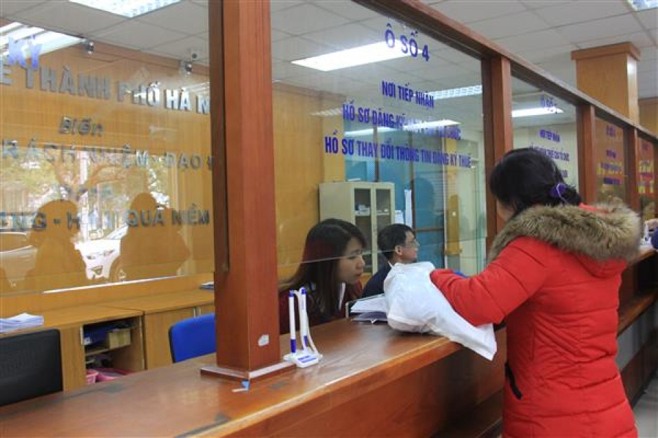 nearly 100 of enterprises in hanoi declare tax via online