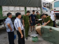 vietnam customs holds a press conference on anti smuggling