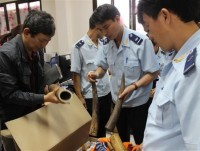 customs has chaired and coordinated violation seizures of 193566 cases