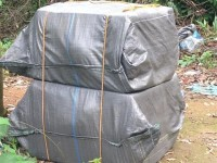 tan thanh customs seize 24 abandoned packages
