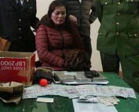 ha tinh customs and coast guard seize 3 bars of heroin